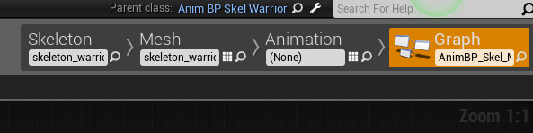 Ue4how to share characters blueprint and animation blueprint figure6 is newly created abp following the method covered in case1 as you can see skeleton and mesh is set to the identical to original property value malvernweather