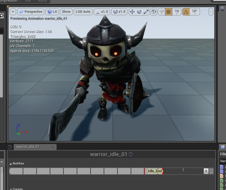 Ue4how to play random idle animations on ue4 smilemugis blog first of all animation notify needs to be inserted in the animation sequence the purpose of this task is to clearly mark the end of animation malvernweather Choice Image